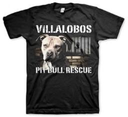 Coddonn Mens Pit Bulls & Parolees Unisex Villalobos Rescue Center Pit Bull Rescue T-Shirt