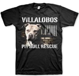 LesGo Tshirt Villalobos Rescue Center Pit Bull Rescue T-Shirt
