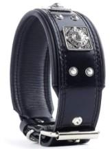Bestia EROS Genuine Leather Dog Collar