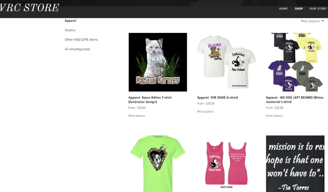Pitbull and Parolees Shop / Store Info